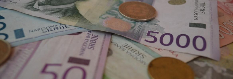Monnaie serbe dinar serbe